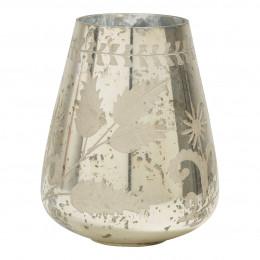 Vase Eden doré antique brillant