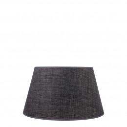Abat-jour conique anthracite - Diam. 35 cm