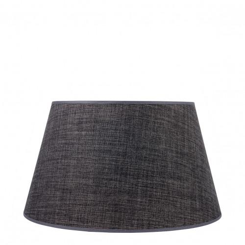 Abat-jour conique anthracite - Diam. 45 cm