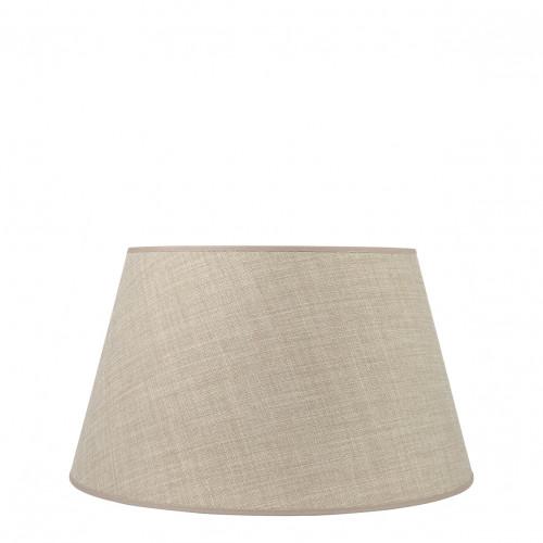 Abat-jour conique beige - Diam. 40 cm