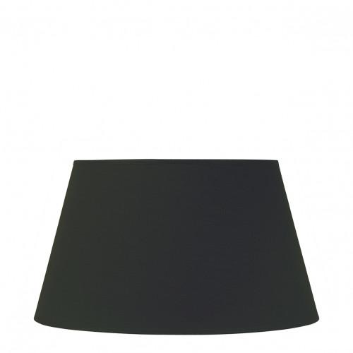 Abat-jour conique noir - Diam. 45 cm