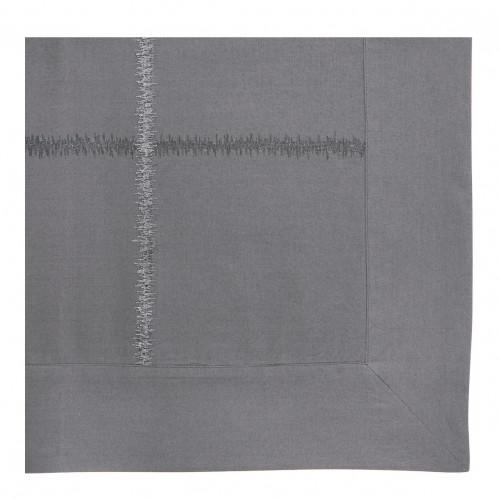 Taie d'oreiller GABRIELLE ardoise - 65 x 65 cm