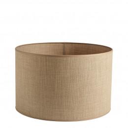 Abat-jour cylindrique beige - Diam. 45 cm