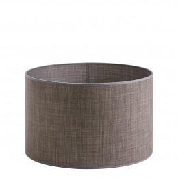 Abat-jour cylindrique taupe - Diam. 40 cm