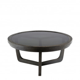 Table basse MAXTON brun - Petit modèle