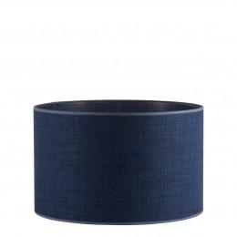 Abat-jour cylindrique indigo - Diam. 40 cm