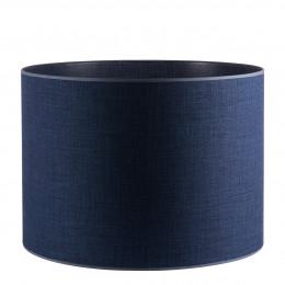 Abat-jour cylindrique indigo - Diam. 55 cm